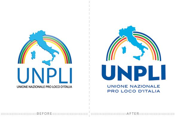 UNPLI logo re-styling